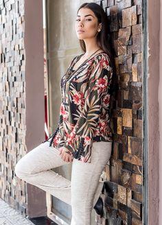 #blusa #floral #inverno #2017 #modafeminina #moda #fashion