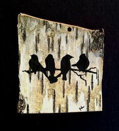 Image result for paint on birch bark