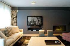 Камины и печи. Часть 3. Камины без порталов и облицованные каминные топки - Дизайн интерьеров | Идеи вашего дома | Lodgers