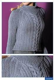 receitas de blusas trico adulto feminino - Pesquisa Google