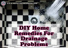 DIY Home Remedies For Drainage Problems Maintaining a good plumbing system in your home is important for obvious reasons. Being careful of what goes down the drain, and teaching the other members of the house to be careful goes a long way in ensuring a clog-free drainage system at your home.