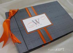 charcoal and orange