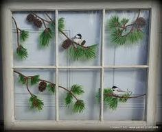 Image result for how to use old windows in the garden