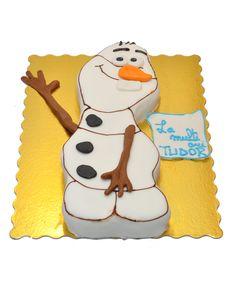 Olaf cake by Tuffli www.tuffli.ro