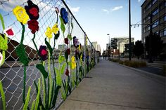 Love this! (can anyone crochet.... and build me a fence?)