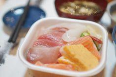 日本海の恵みたっぷりの海鮮ちらし