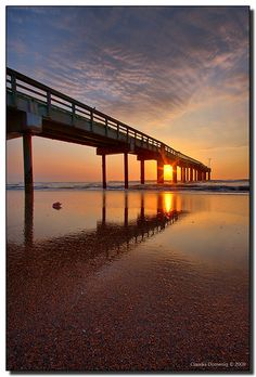 St. Augustine Beach Pier....Special time away for Fathers Day weekend...Just me and the hubby!! Can't freakin wait!!!