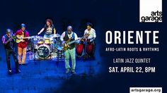 April 22 at 8 PM: Arts Garage presents Oriente, Miami's outstanding Latin jazz band. Arts Garage is located at 94 NE 2nd Ave in Delray Beach. Tickets are $30-$40-$45 at artsgarage.org. Their email is info@artsgarage.org and the box office phone is (561) 450-6357. Bring your own … WHATEVER! The theater boasts cabaret-style table seating, where patrons can bring their own food and drinks, including alcohol.  Music courtesy of KCC Productions.