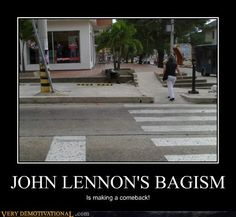Blast from the past! John Lennon's Bagism is making a comeback!