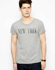 Esprit T-Shirt With Roll Sleeve