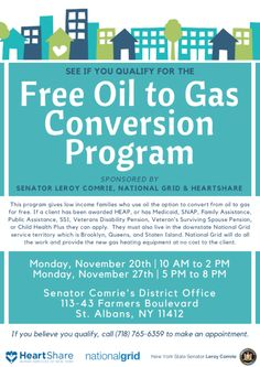 You may qualify to save on your heating bill with a free oil to gas conversion if you live in Jamaica NY. Get the scoop below...