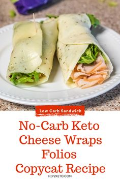 Weight Loss Diet Recipes Folios Cheese Wraps Keto Copycat Recipe - No Carbs!Weight Loss Diet Recipes Folios Cheese Wraps Keto Copycat Recipe - No Carbs! Ketogenic Recipes, Low Carb Recipes, Diet Recipes, Healthy Recipes, Healthy Food, Ketogenic Diet, Protein Recipes, Diet Meals, Lunch Recipes