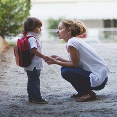 Preschool separation anxiety is common, not that that's any comfort when you have a clinger on your hands…or around your neck. Try these tear-taming tips for an easier preschool good-bye each day.