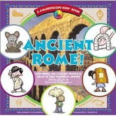 Ancient Rome! by Kaleidoscope Kids has a lot of fun facts about Ancient Rome, including a look at how many English words are derived from Latin, but we used it primarily for the simple craft projects.