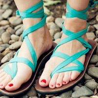 Style & Customize Your Sandals | Sseko Designs - Sandals from Uganda that you can wear hundreds of ways. Profits go towards womens' college education.