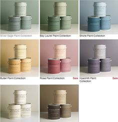 Silver Sage Paint Cans Shades Of Color