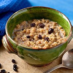Spiced Breakfast Quinoa. Quinoa is often turned into a creamy hot breakfast cereal in Bolivia, where much of the world's quinoa is grown. This healthy breakfast quinoa recipe is a hot cereal that is infused with an aromatic chai-inspired blend of spices—cinnamon, nutmeg and ginger.