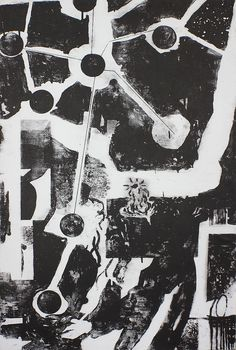 Seeker, mokulito print by Oskar Jamrozek more prints: https://www.facebook.com/RDESTBYLINA/