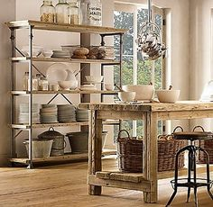 Great Storage Rack & I love the table!