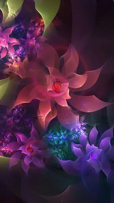 Pretty Phone Wallpaper, Colorful Wallpaper, Flower Wallpaper, Mobile Wallpaper, Leaves Wallpaper, Flower Backgrounds, Abstract Backgrounds, Wallpaper Backgrounds, Phone Backgrounds