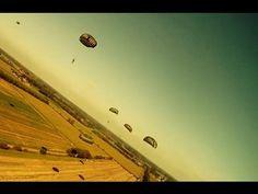 Operation market garden reenactment    #gopro #parachute