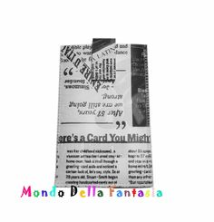 Mondo Della Fantasia: Porta cellulare in eco pelle :) Greeting Cards, Fantasy