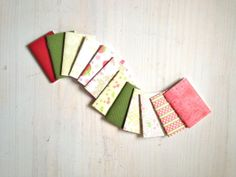 For gift bags - Tiny Journals Notebooks 12 Tiny Journals Set by ordinaryartists, $10.00