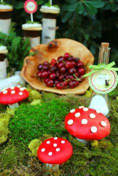 Gwynn Wasson Designs: Emily's Woodland Fairy Party