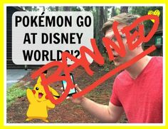 Disney Bans Pokémon GO from Parks Including Star Wars Land
