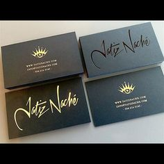 50 best foil stamped business cards images on pinterest foil love these cards for a great artist out of new orleans one with gold foil reheart Images