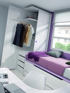 Tiny House Furniture, Space Saving Furniture, Bedroom Furniture, Bedroom Decor, Box Room Bedroom Ideas, Small Room Bedroom, Kids Bedroom, Small Bedroom Designs, Closet Designs