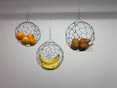 hand-made wire baskets