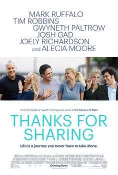 """Movie Review: """"Thanks for Sharing"""" (2013) 