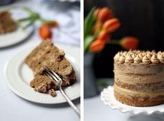 Coffee and Walnut Cake - College Housewife