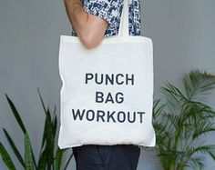 Tote Bag Punch Bag Workout