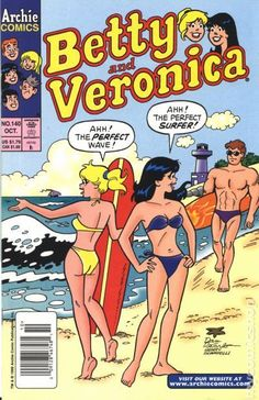 Betty and Veronica VF/NM Archie - save on shipping - details inside Archie Comics Strips, Archie Comic Books, Vintage Comic Books, Vintage Comics, Old Comics, Funny Comics, Archie Betty And Veronica, Archie Comics Riverdale, Dan Decarlo