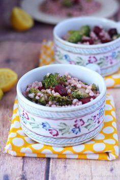 detox salad,barley salad