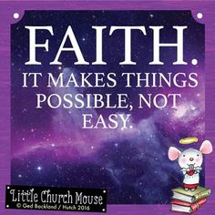 FAITH.... .