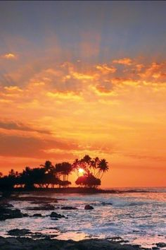 """""""KONA"""" - THE BIG ISLAND, HAWAII © 2011 Peter Lik Fine Art Photography The one place on the planet I would love to live full time, other than my beloved Phoenix. The beauty and the splendour are unmatched anywhere else. Peter Lik, Beautiful Sunset, Beautiful Places, Places To Travel, Places To See, Big Island Hawaii, Ocean Beach, Beach Sunsets, Hawaii Travel"""