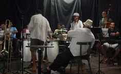 FOTOS - Ensaios Projeto Natura - Geronimo Santana, Banda Mont´Serrat e Orquestra Afro Sinfônica (Salvador-Bahia-Brasil) 26-11-2014