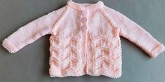 Gentle Breeze Baby Sweater Pattern