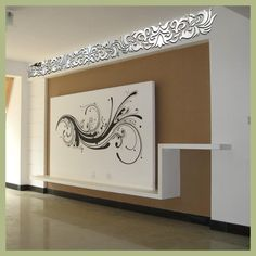 Continental Wall Stickers DIY Home Decoration Ceiling Diagonal Mirror Wall Stickers Wall Art Pegatinas Paredes Decoracion