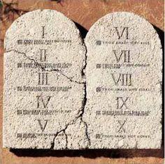 10 Commandment team activity