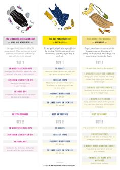 Party girl workout. Which workout are you?