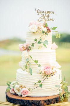 Wedding Day Wedding Photography Film Photography Wedding Cake Ideas Rustic Cake Fresh Flower Cake Gold Cake Topper Gunawan & Melisa