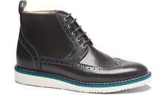 NAVYBOOT extra light sole high top long wing derby