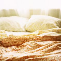 slept-in sheets