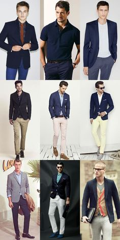 Smart-Casual Navy Tailoring Outfit Inspiration