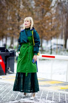 The Best Street Style At Paris Fashion Week AW18 - ELLEUK.com