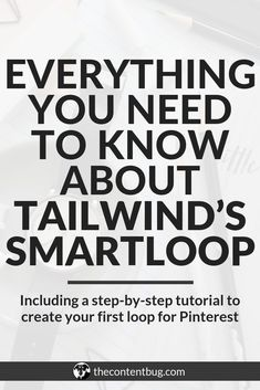 Before you start using SmartLoop on Tailwind, there are a few things you need to know. In this post, you'll find some FAQ about SmartLoop, a complete tutorial on how to create your first loop, and how you can analyze and edit your loops in the future. How To Start A Blog, How To Make Money, Site Internet, Pinterest For Business, Business Tips, Business Planning, Creative Business, Work From Home Jobs, Pinterest Marketing